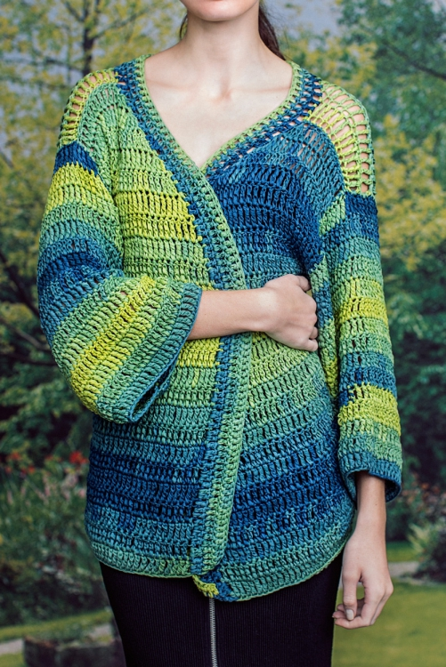 Kimono-Jacke - Initiative Handarbeit