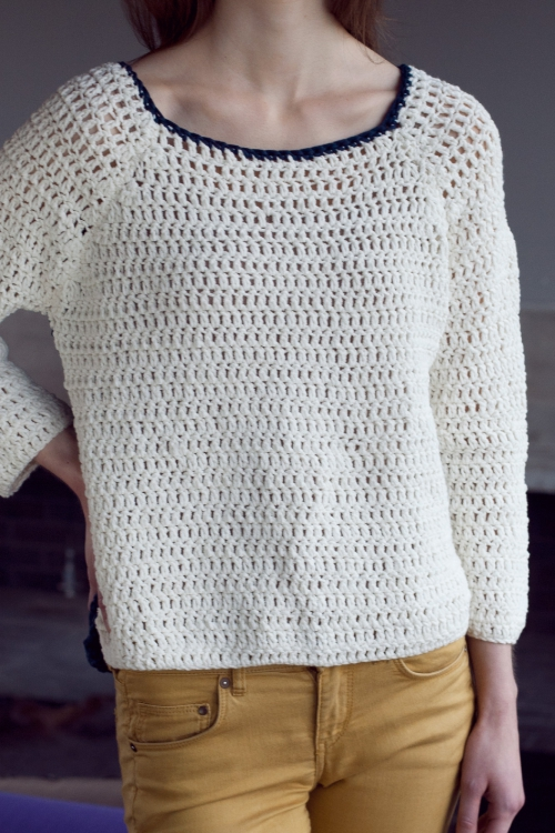 Raglan-Pullover - Initiative Handarbeit