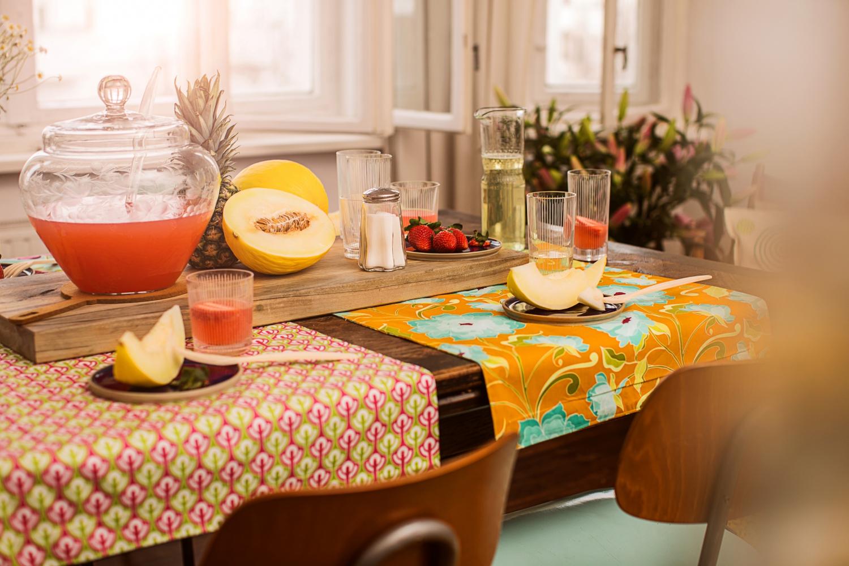 Tischläufer Im Mustermix Initiative Handarbeit