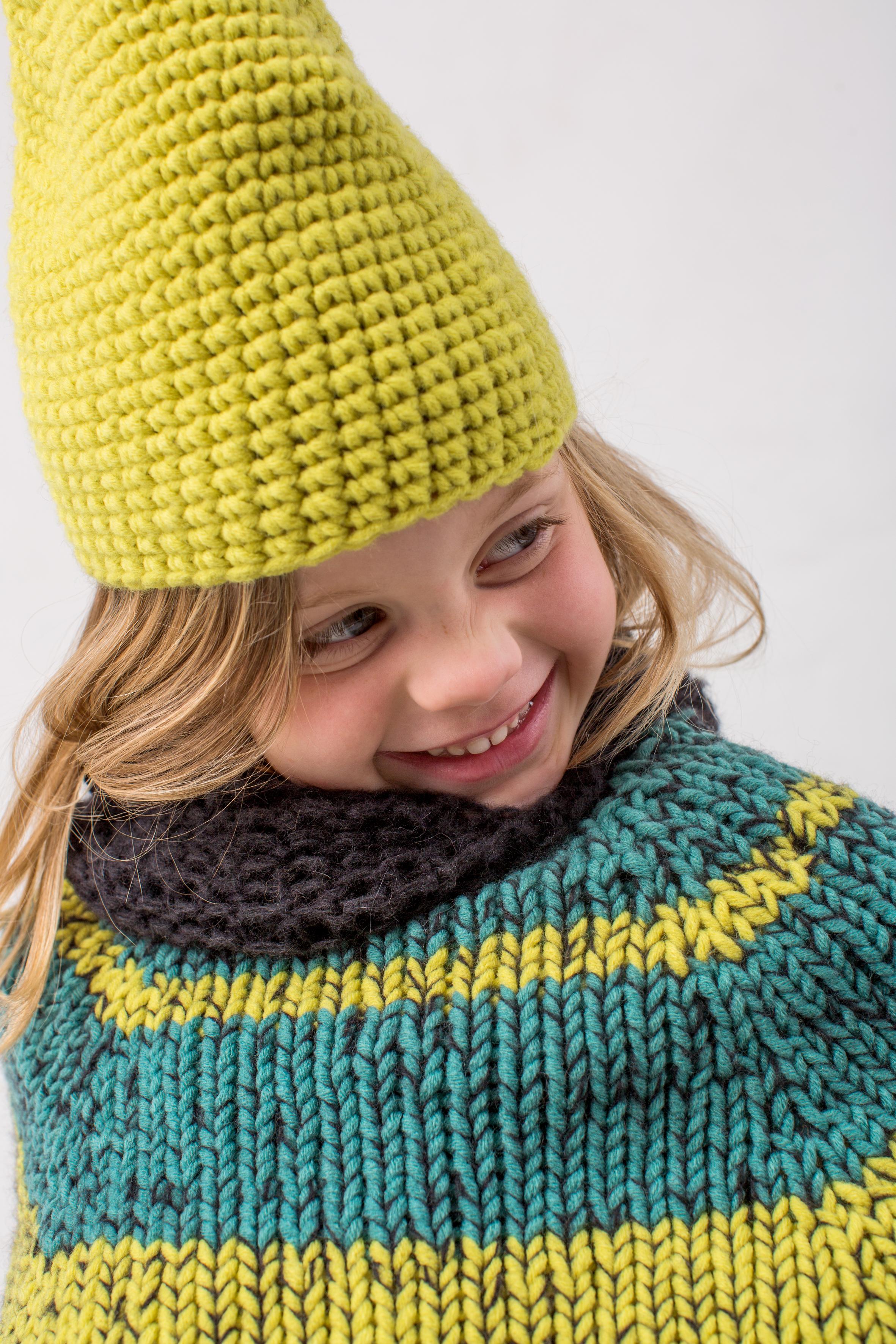 Beautiful Kinder Gehäkelten Hut Und Schal Muster Gallery - Decke ...