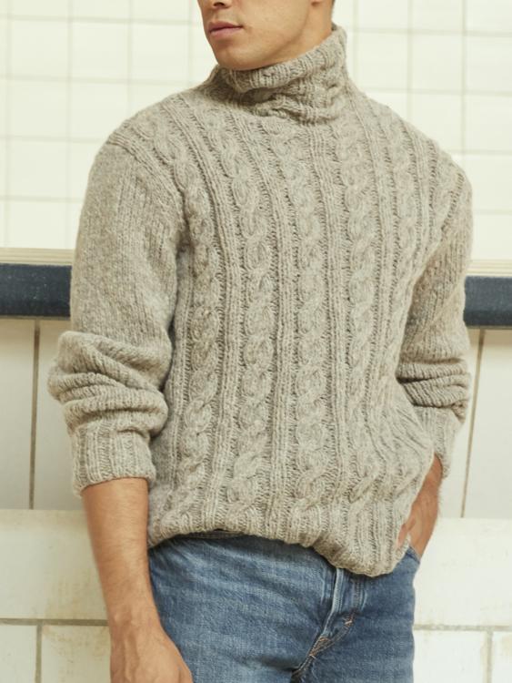 Unbekannt Paola Damen Pullover mit Zopfmuster: Bekleidung