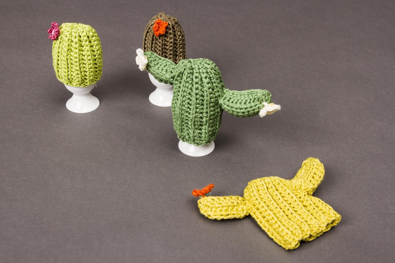 Eierwärmer Kaktus Initiative Handarbeit