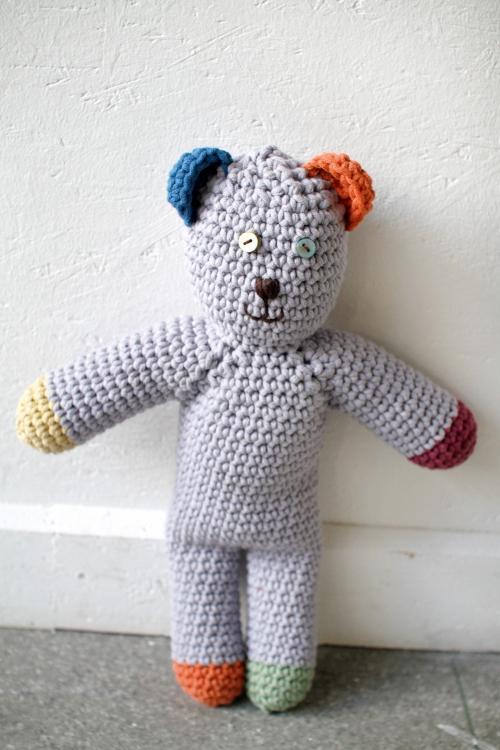 Kostenlose Anleitung Häkel Teddy Initiative Handarbeit