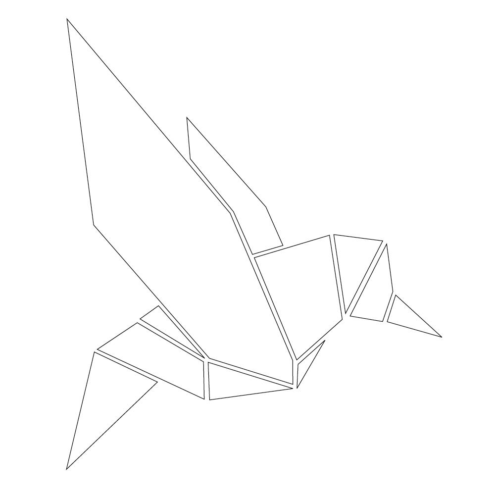 origami vogel pullover initiative handarbeit. Black Bedroom Furniture Sets. Home Design Ideas