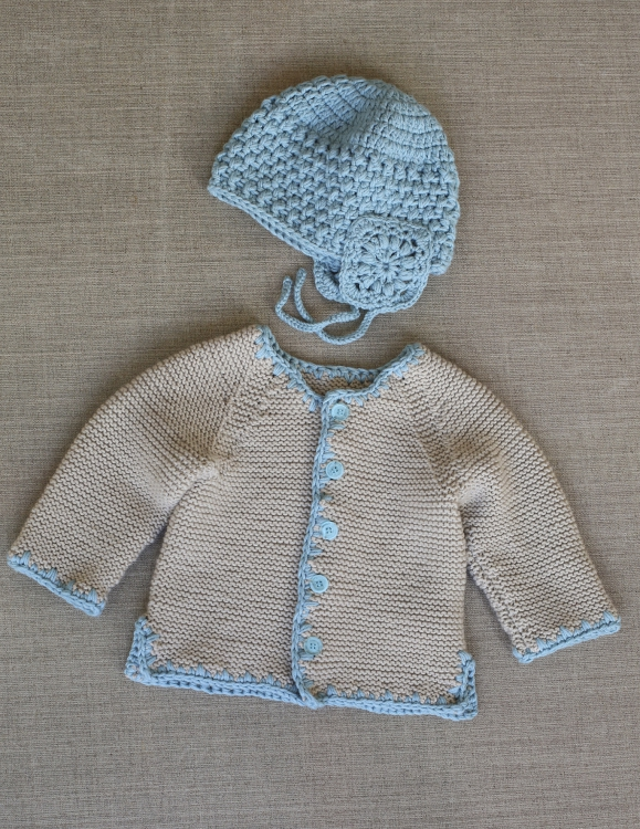 Babyjacke Mütze Initiative Handarbeit
